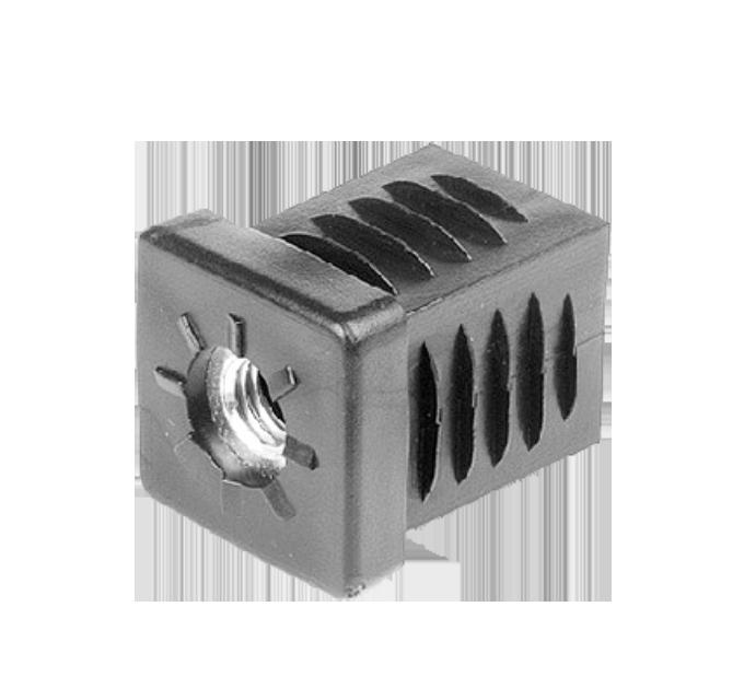 Insteekdop vierkant 30x30mm M8