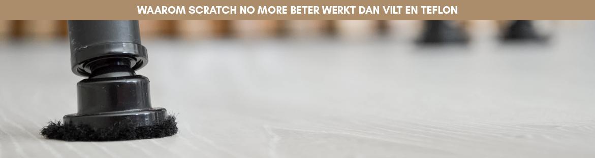 Scratch no More versus vilt en teflon