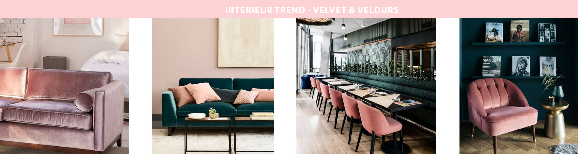 TREND alert: Velvet & Velours